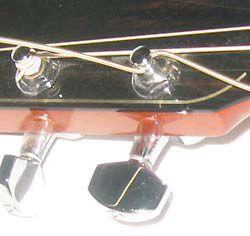 Slide Sixth String Through Tuning Peg