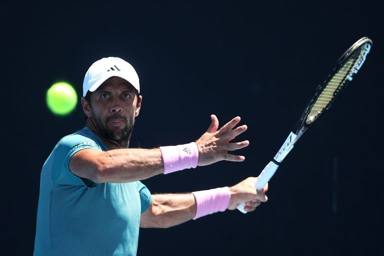 Fernando Verdasco at the 2019 Australian Open
