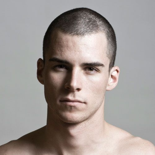 Pictures of Men's Buzzcut Haircuts for Low Maintenance