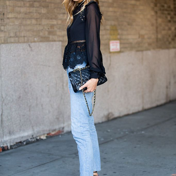 Street style fashion jeans style