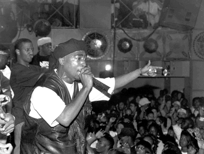 Tupac Shakur performance at The Palladium