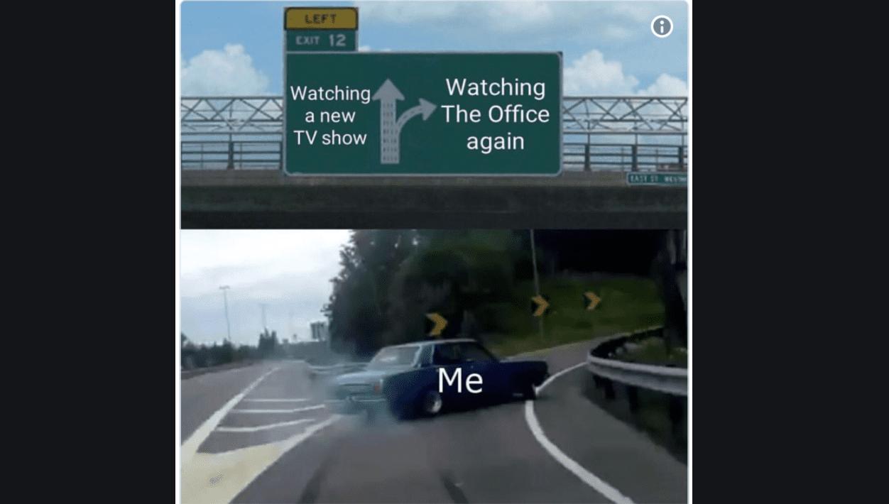 Left exit 12 off ramps meme