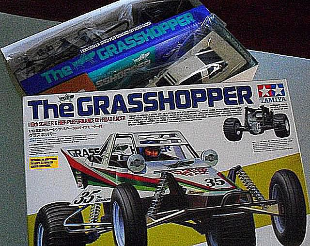 Tamiya Grasshopper is a kit for beginners.