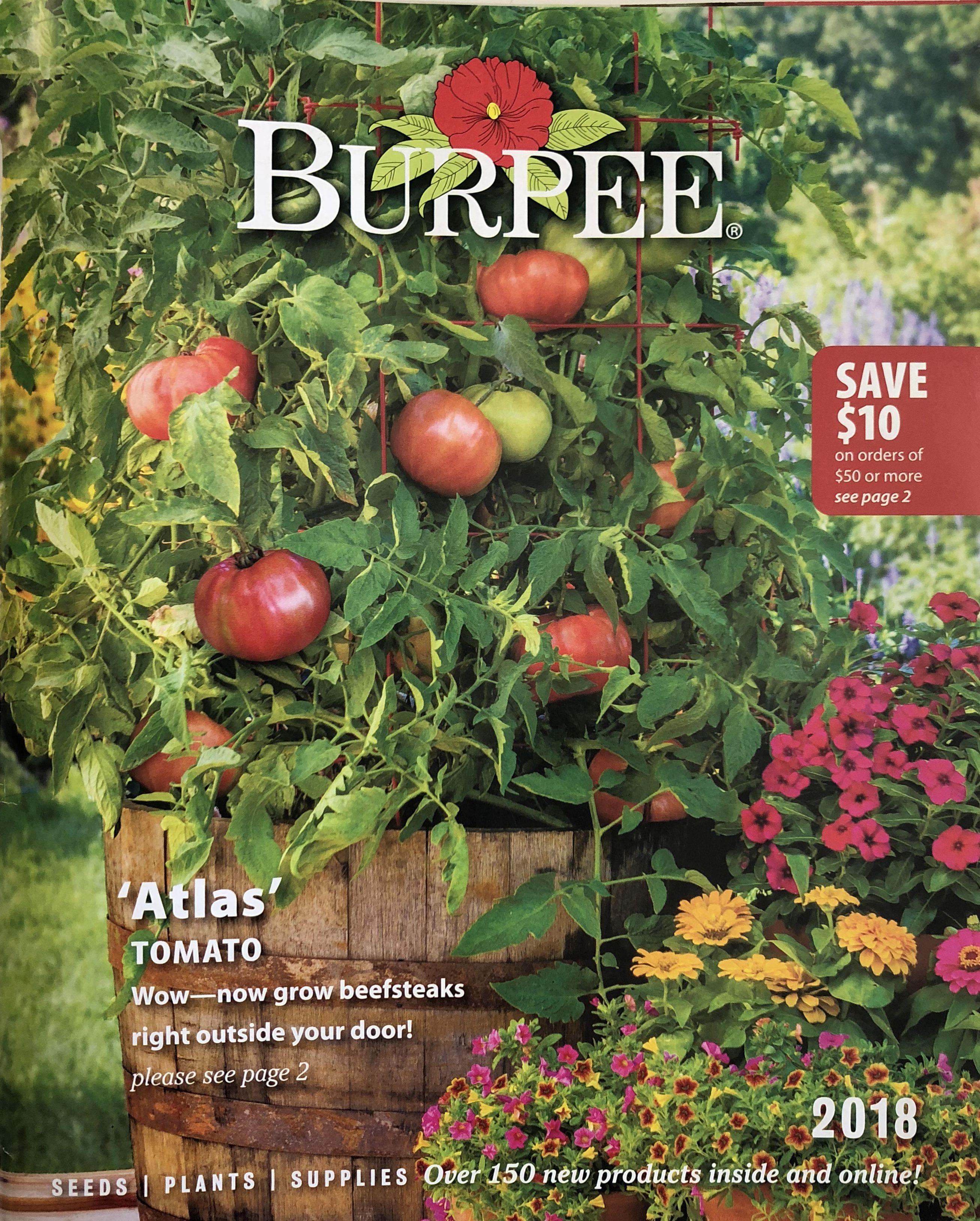The 2018 Burpee seed catalog