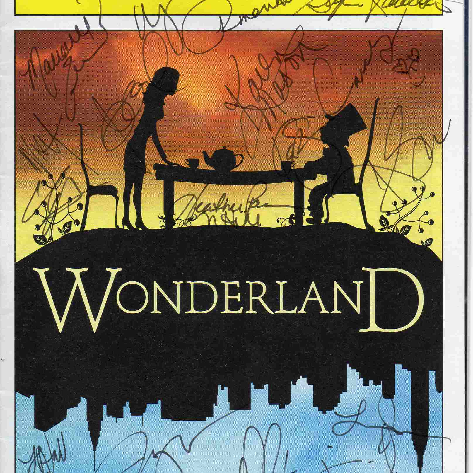 Wonderland Playbill cover