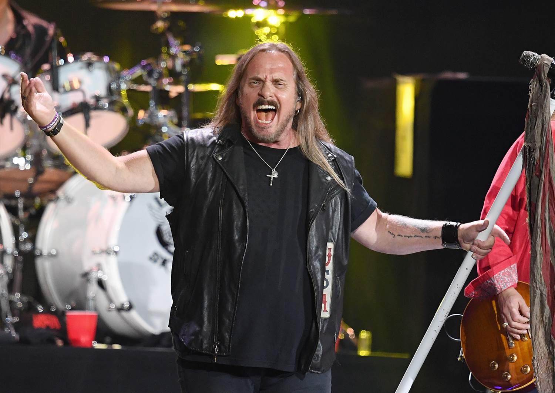 Johnny Van Zant of Lynyrd Skynyrd