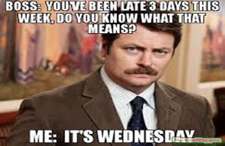 It's wednesday - meme