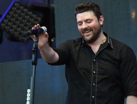 Chris Young performing at Happy Valley Jam 2017 in State College, Pennsylvania.