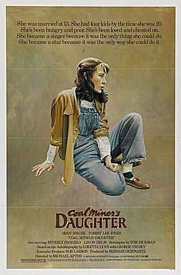 coal miners daughter movie poster