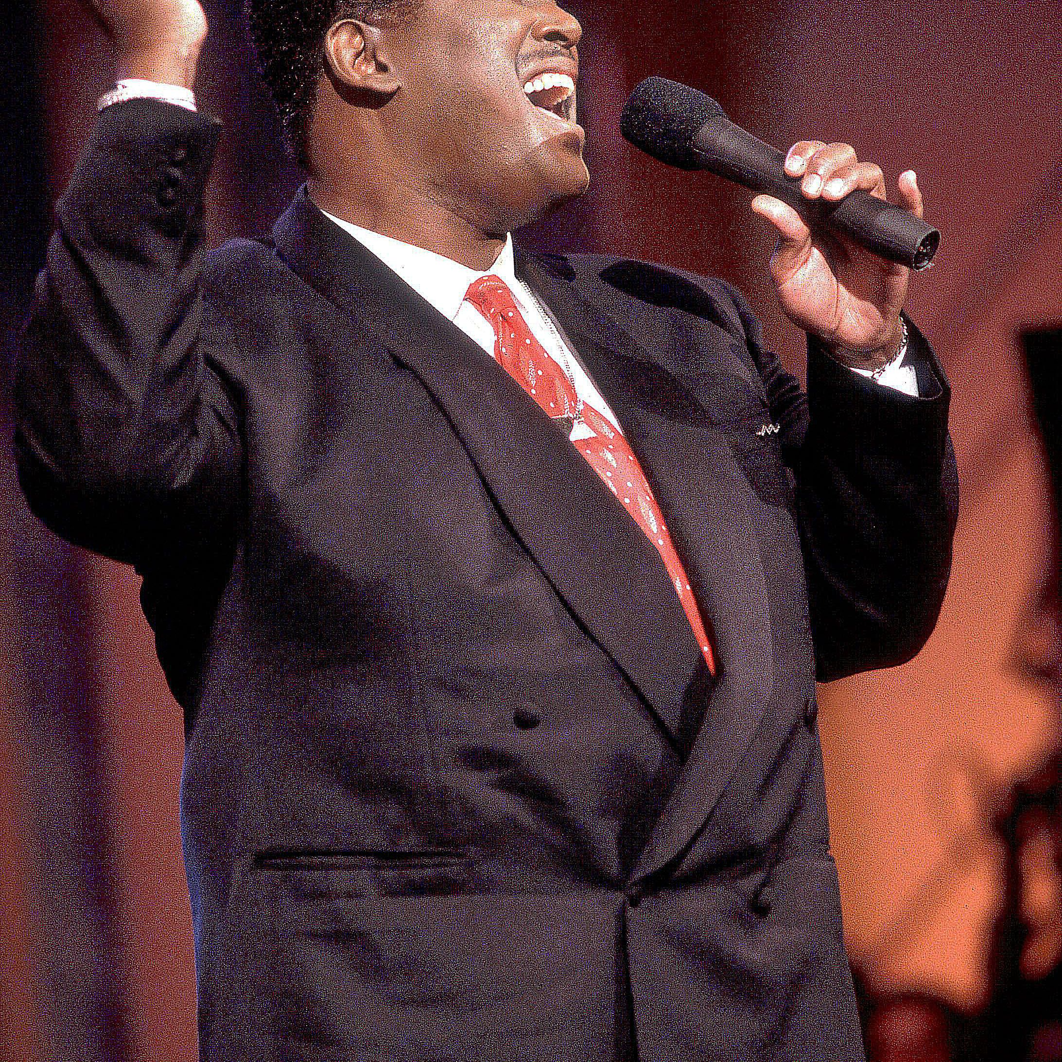 Luther Vandross performs
