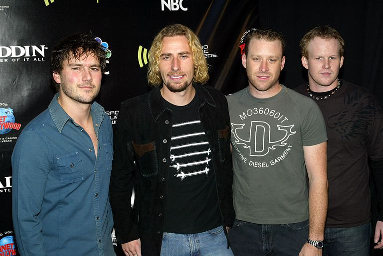 Nickelback in 2004
