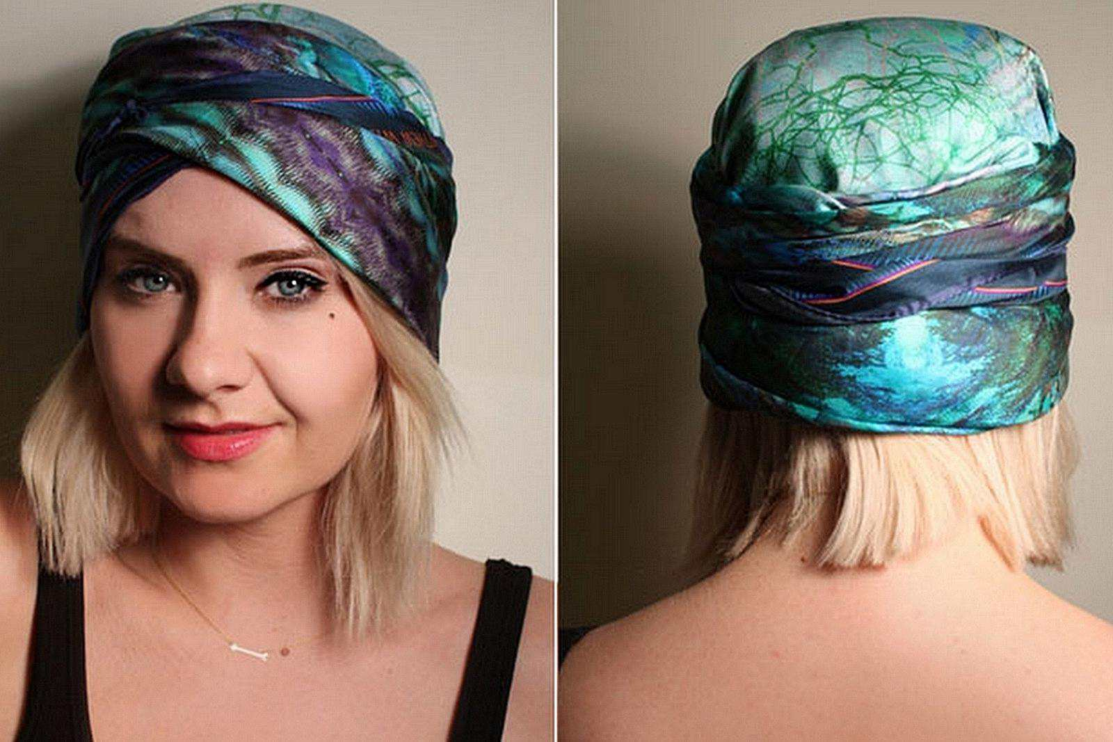 Ten Very Cool Ways To Tie A Headscarf