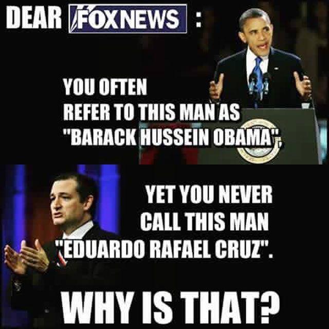 Obama vs. Cruz Full Names