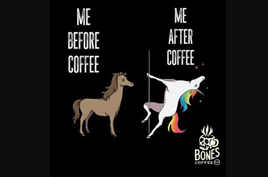 A coffee meme