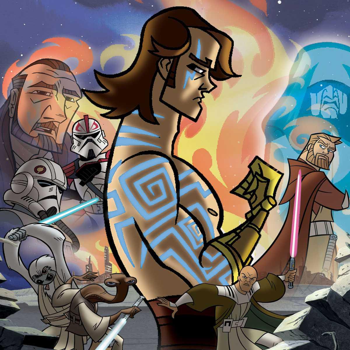 Anakin Skywalker and 'Clone Wars'