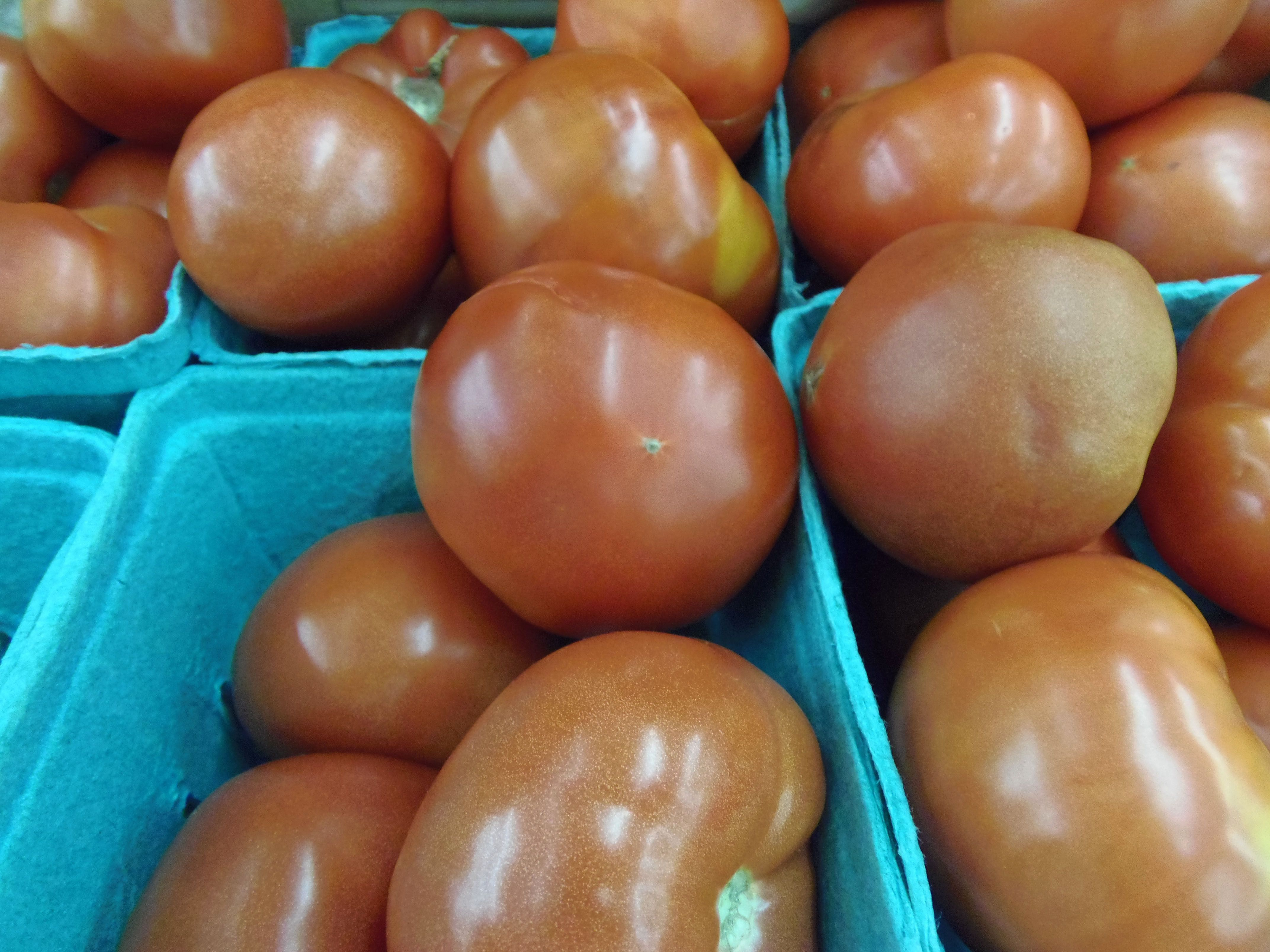 tomatoes in cartons