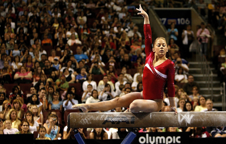 Shawn Johnson 2008 Olympic Trials