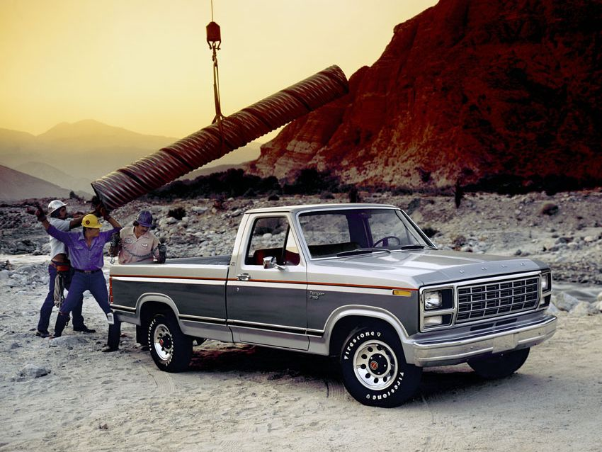 1983 ford f 150 300 engine diagram ford f series truck history  1980 1986  ford f series truck history  1980 1986