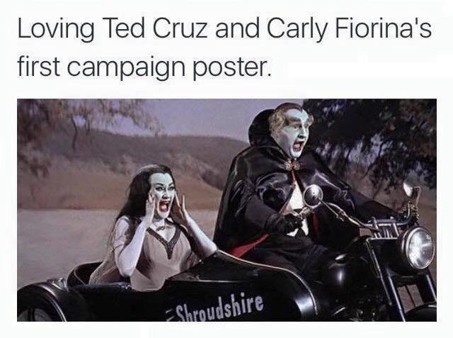 Cruz Fiorina Campaign Poster