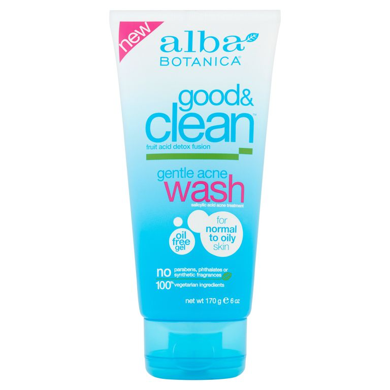 Alba Botanica Good & Clean Gentle Acne Wash