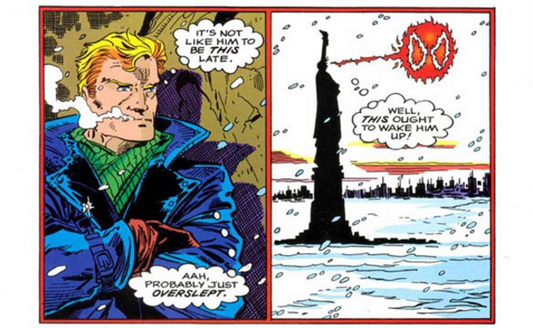 spider man holiday special human torch