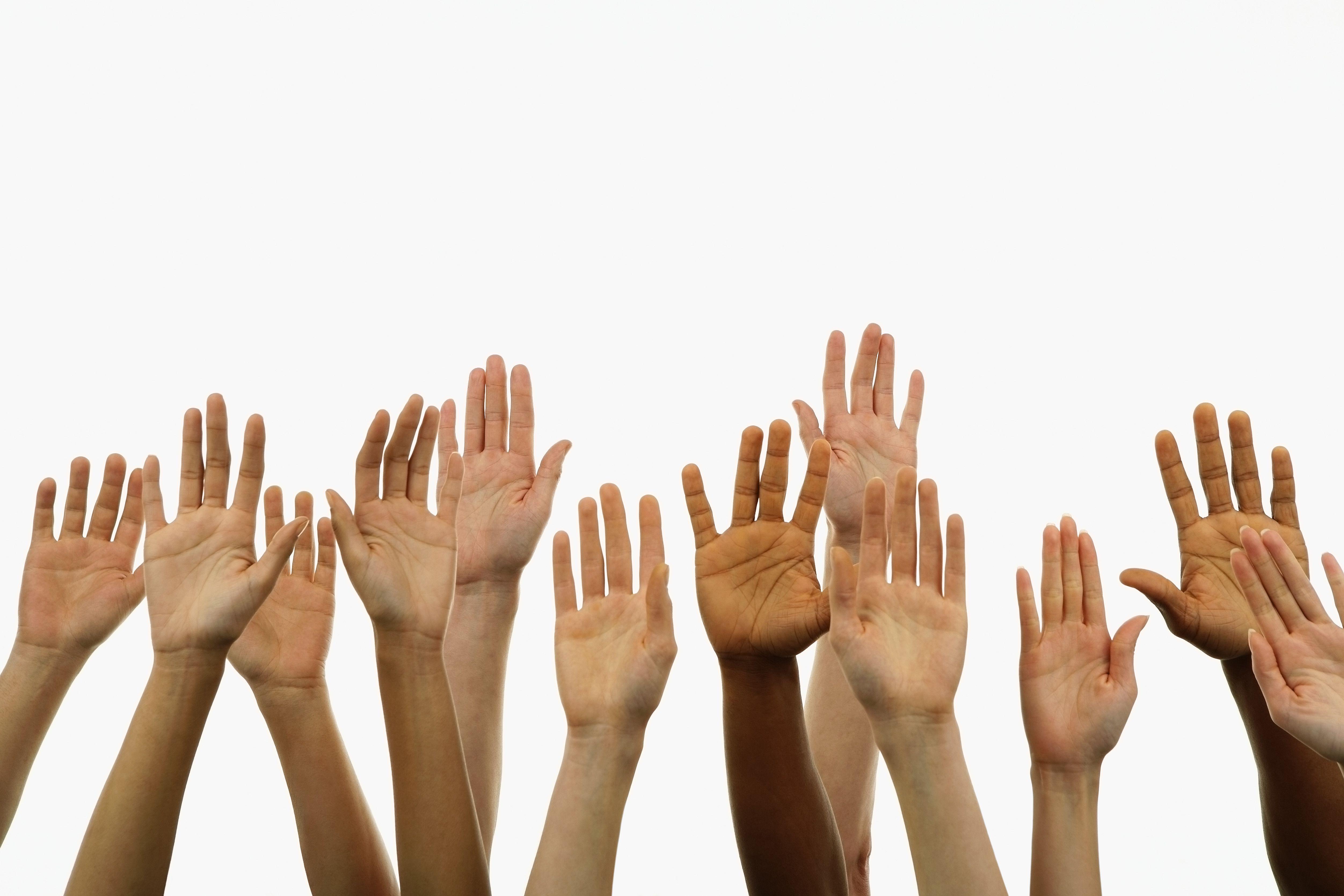 Image of Hands Raised