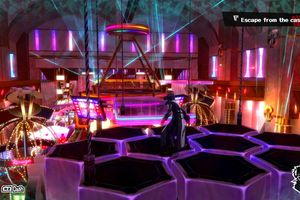The Phantom Thief infiltrates a casino in Persona 5.