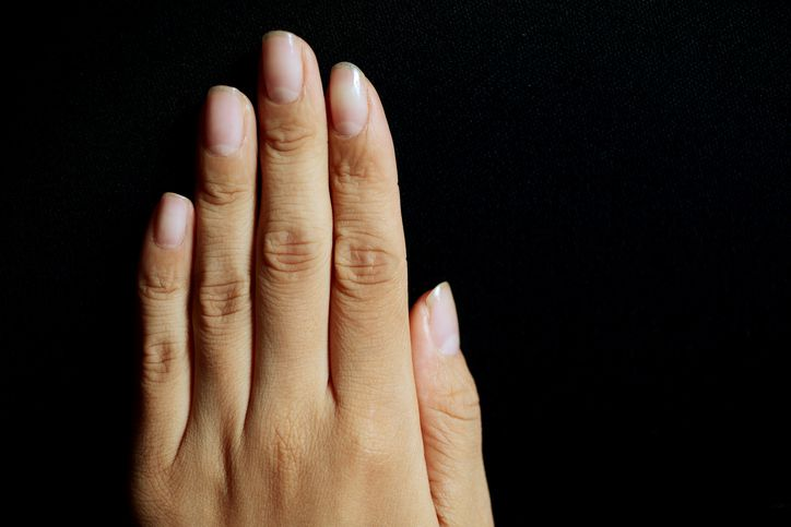 Nails on hands