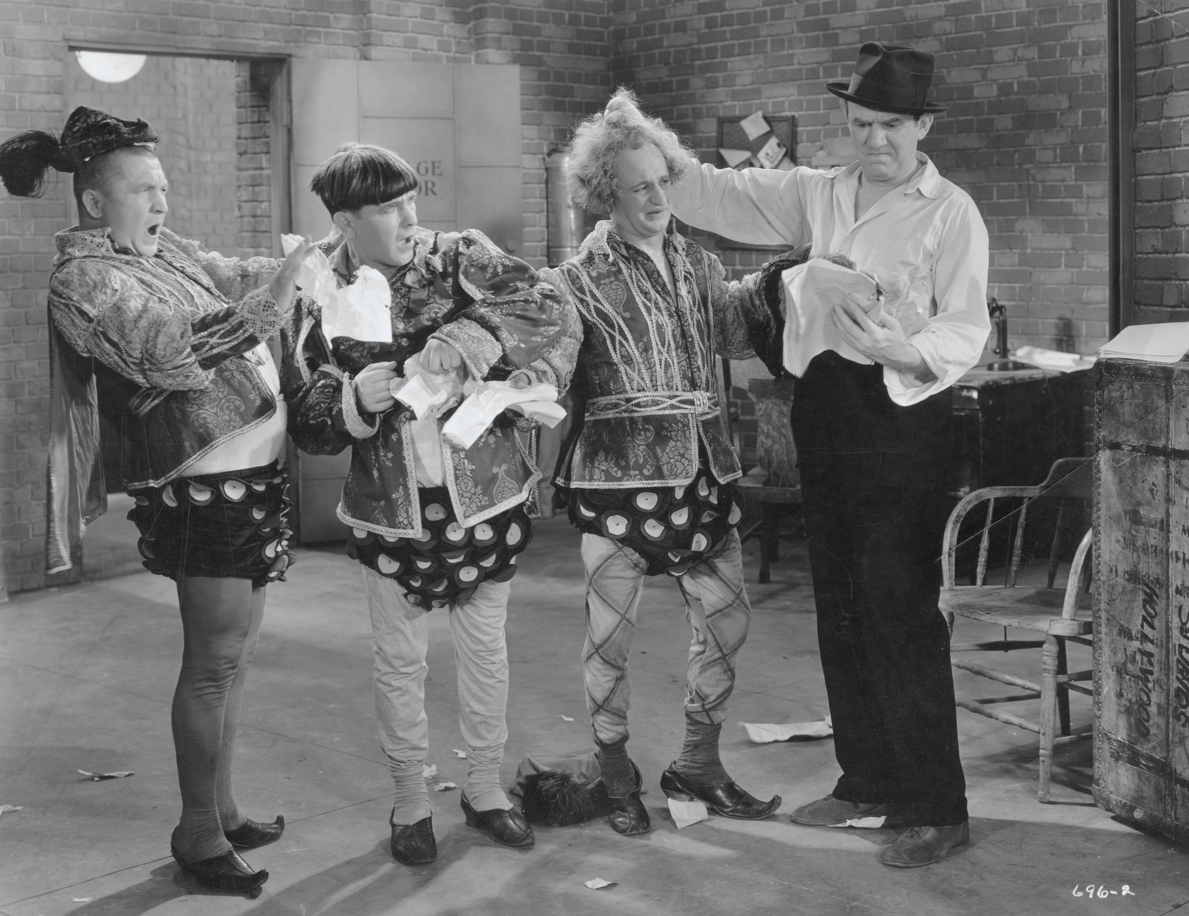 The Three Stooges in Film Scene