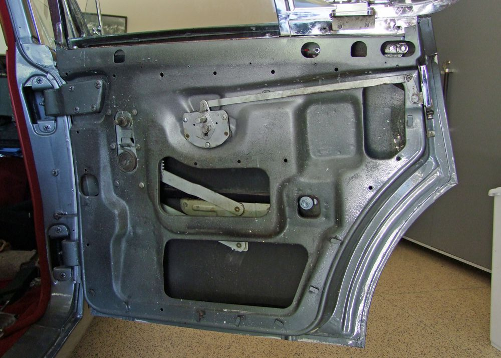 Removing panel and hardware