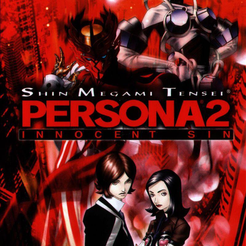 Shin Megami Tensei: Persona 2 Innocent Sin game jacket for PSP