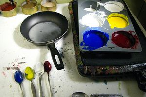 How to make encaustic paint