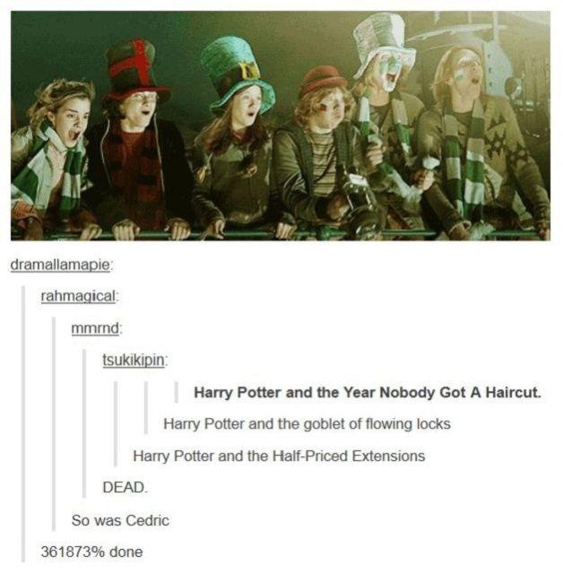 Harry Potter haircut
