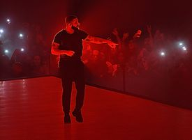 Drake performs onstage at Madison Square Garden
