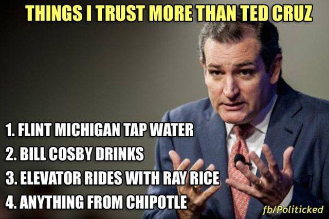 Things I Trust More Than Ted Cruz