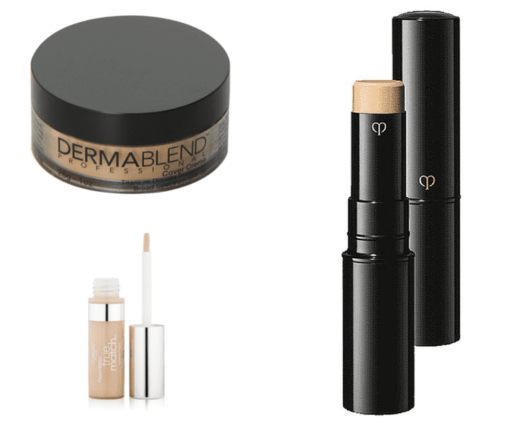 Dermablend, Cle de Peau and L'Oreal