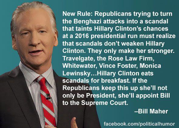 Bill Maher on Benghazi