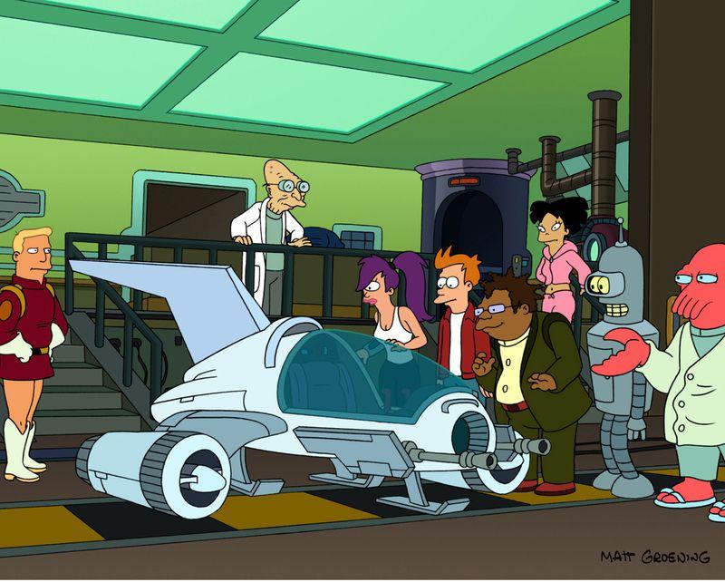 New Futurama Picture