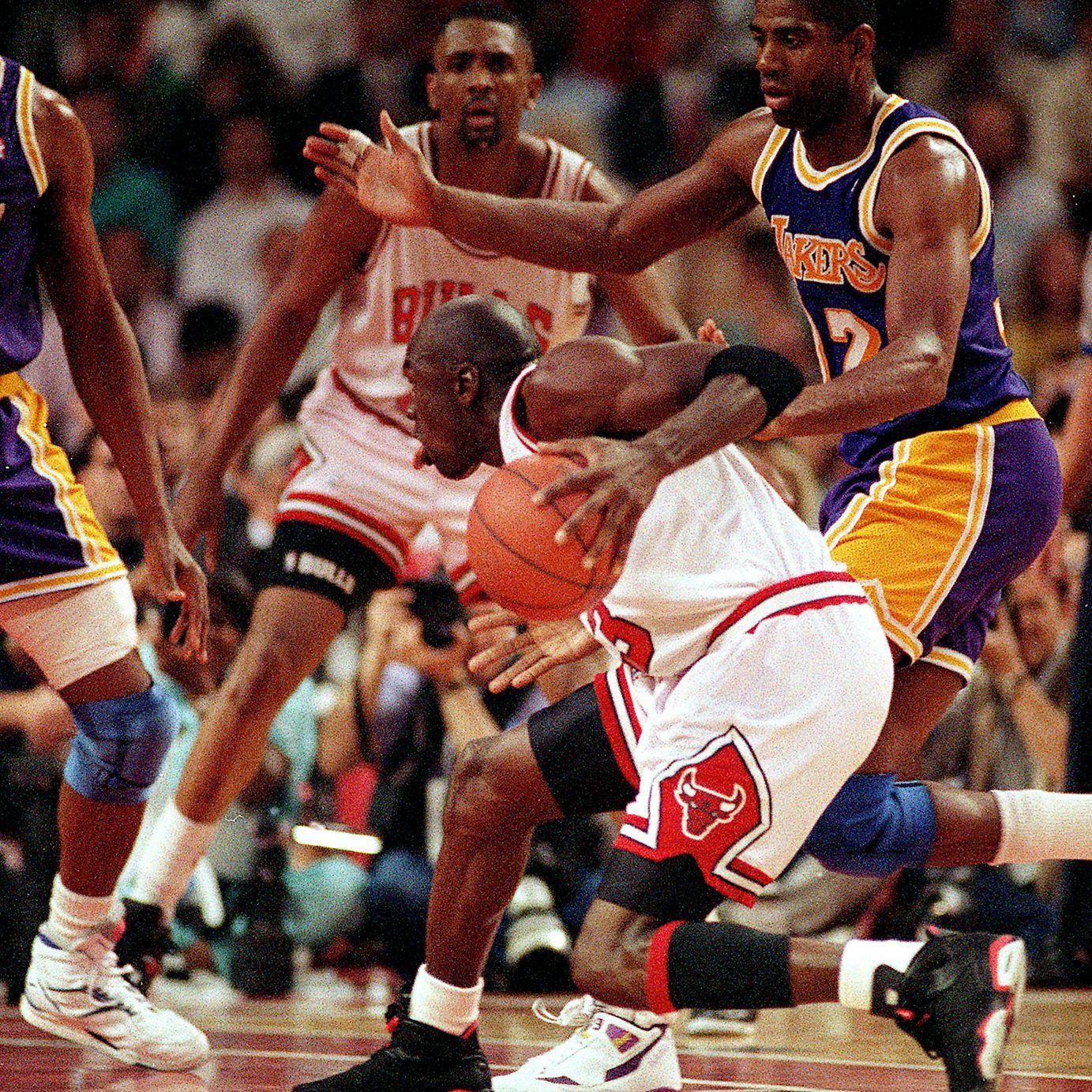 Michael Jordan's NBA Finals Sneakers
