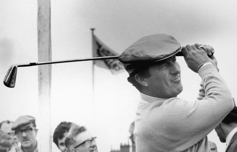 Peter Thomson, a 5-time British Open winner, pictured in 1967.