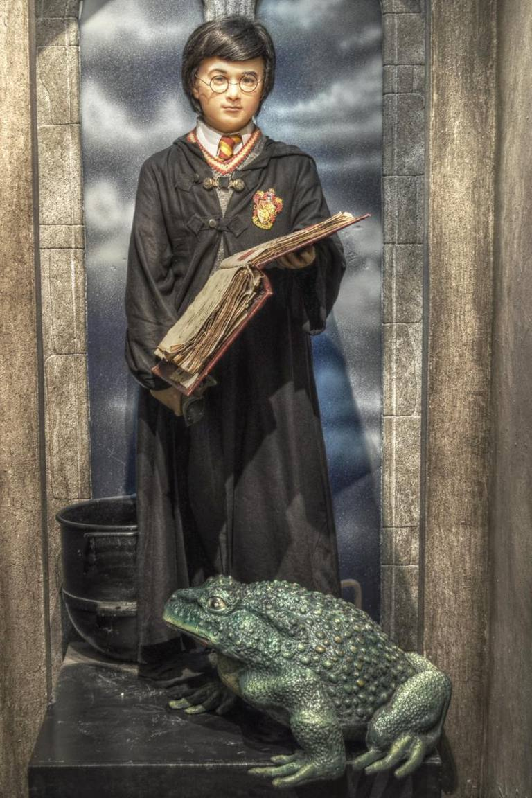 Wax statue of Harry Potter
