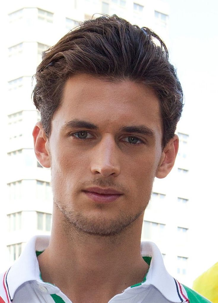 Men S Brushed Back Hairstyles A Gallery