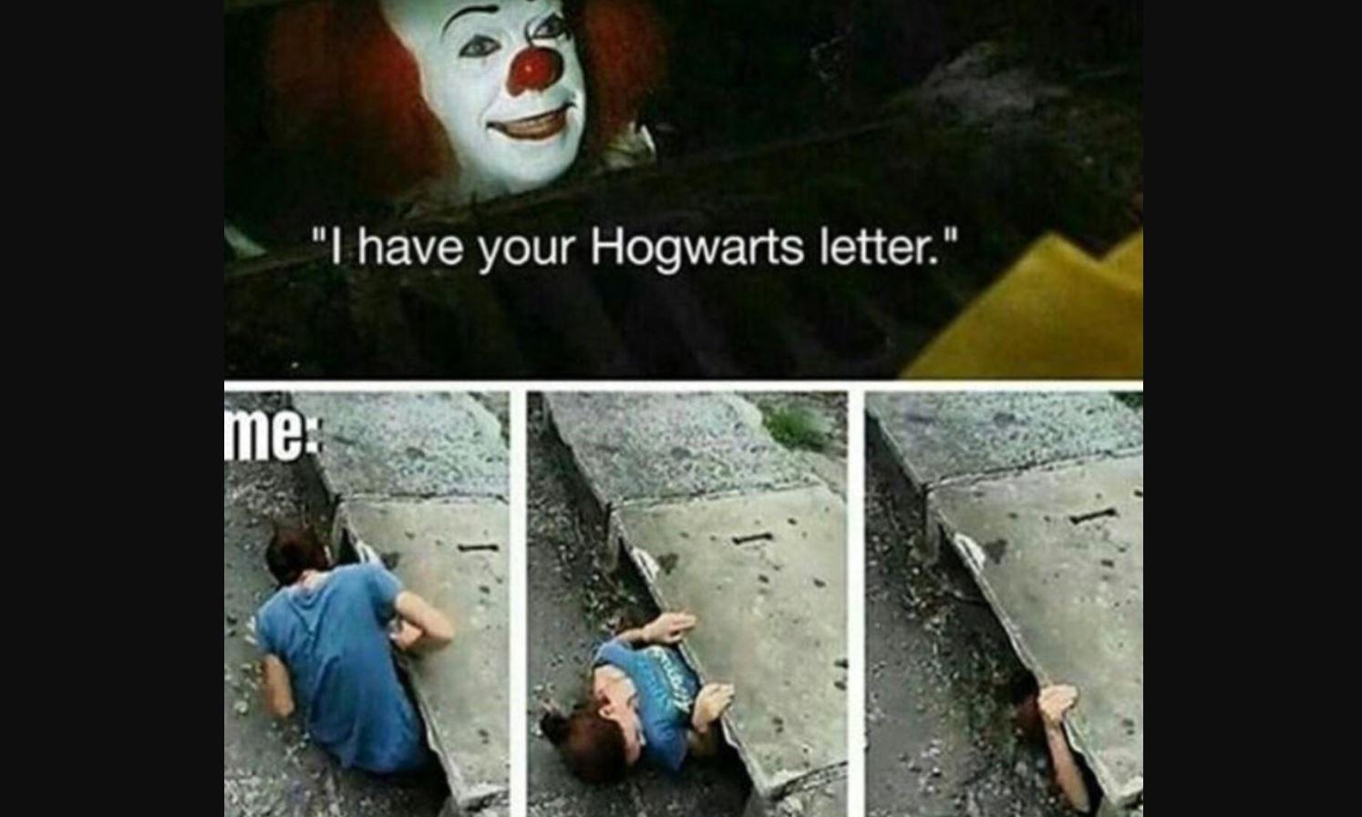 Harry Potter It meme