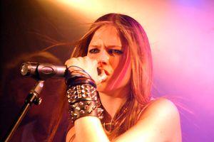 Avril Lavigne at the Viper Room