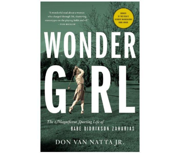 Wonder Girl biography book cover
