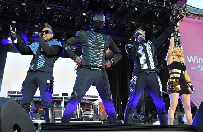Black Eyed Peas on stage