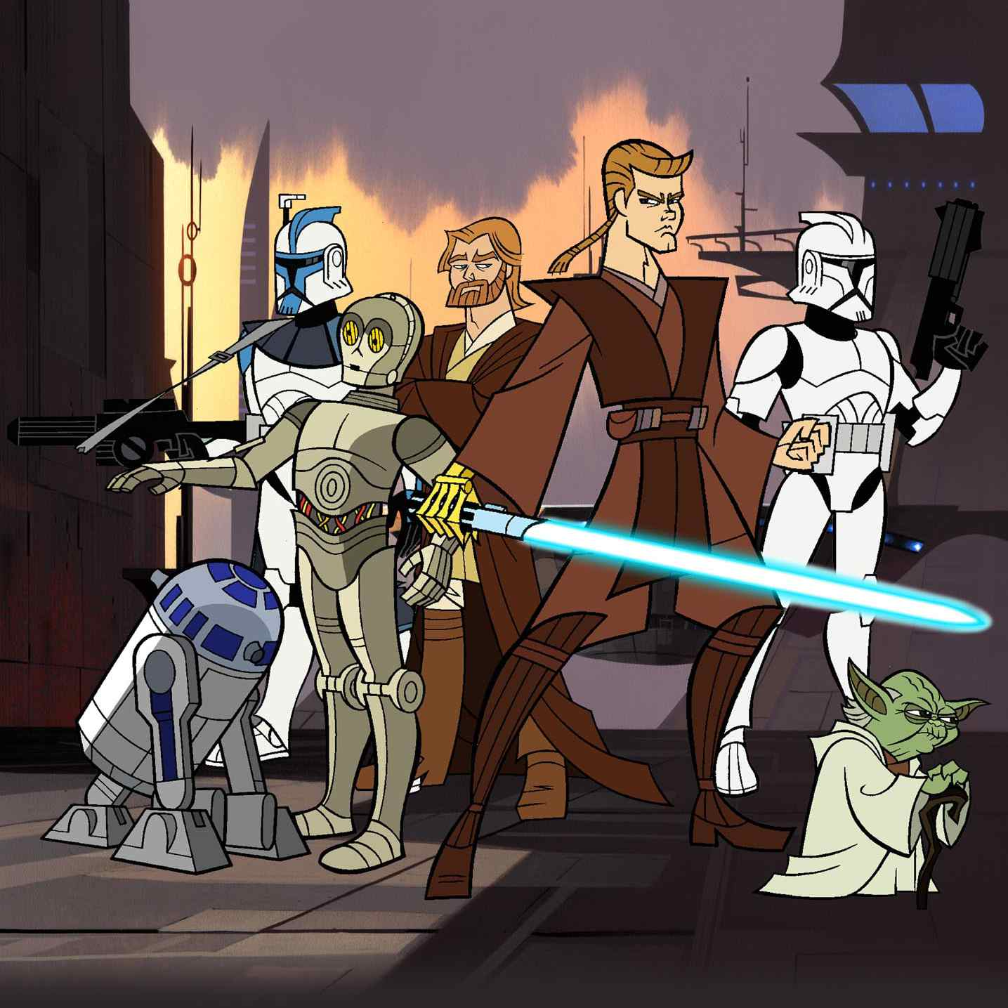 Jedi Heroes from 'Clone Wars'