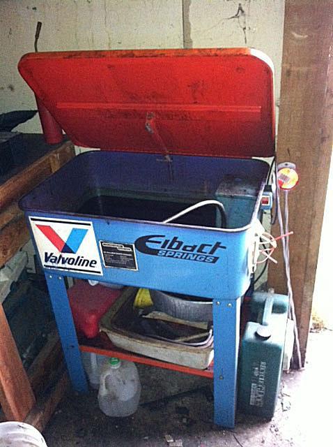 Biodiesel Parts Washer