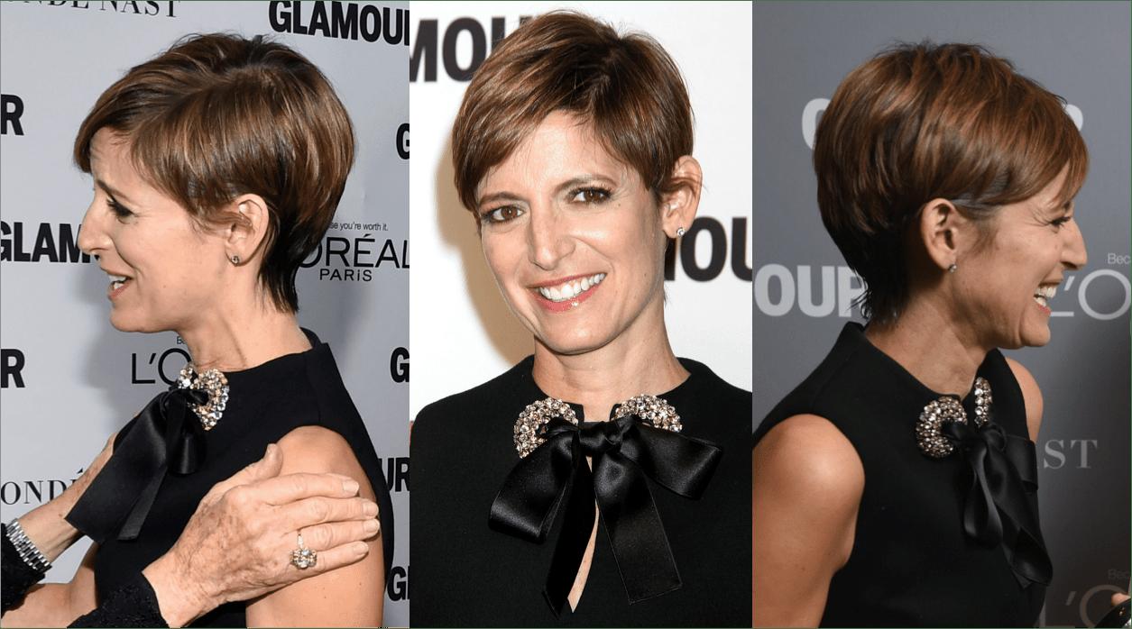 Cindy Leive, editor of Glamour Magazine