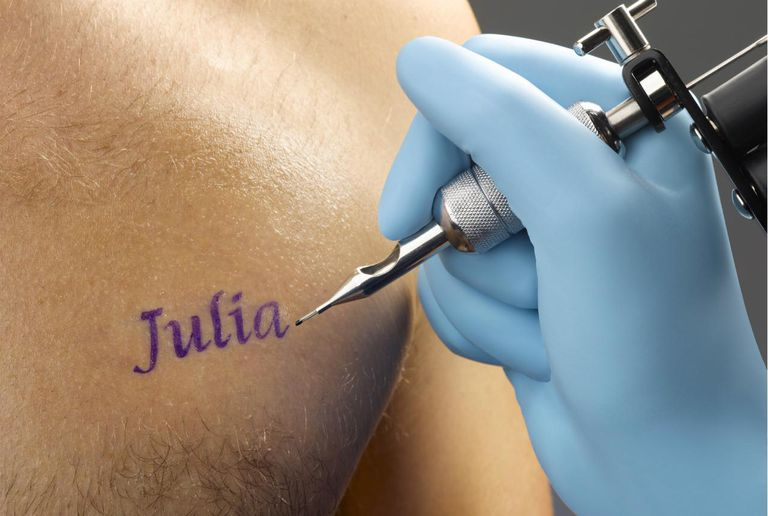 Julia Tattoo Design